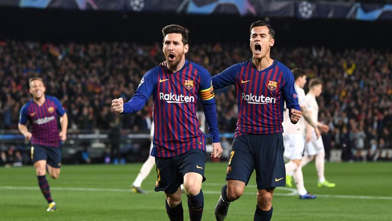 Barcelona 3 - 0 Man Utd - Match Report & Highlights