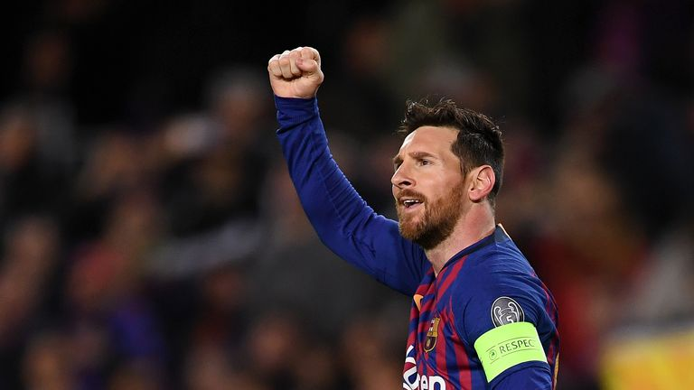 Lionel Messi has won nine La Liga titles with Barcelona