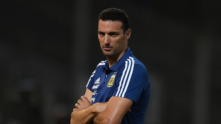 Lionel Scaloni was released from hospital on Tuesday