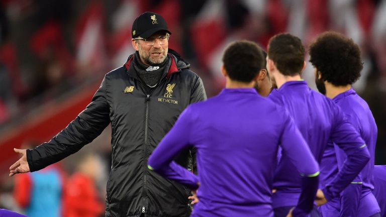 Jurgen Klopp says Liverpool have 'two proper weeks as a pre-season for the Champions League final'