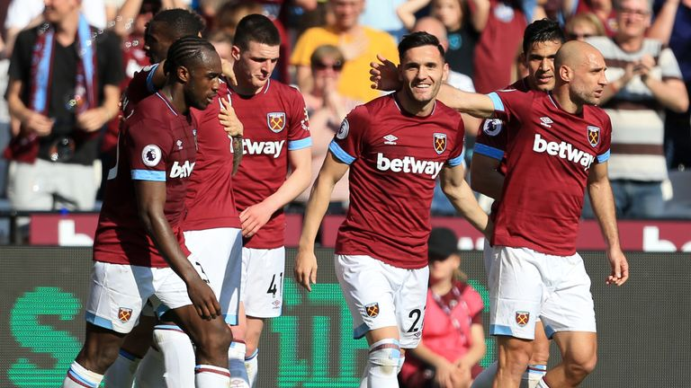 West Ham have included a 30 per cent sell on clause in the deal - Sky sources