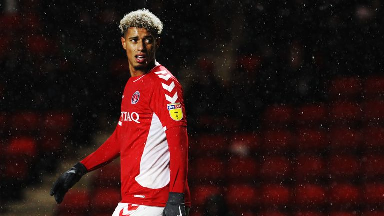 Lyle Taylor has been Charlton's key man since Karlan Grant's exit
