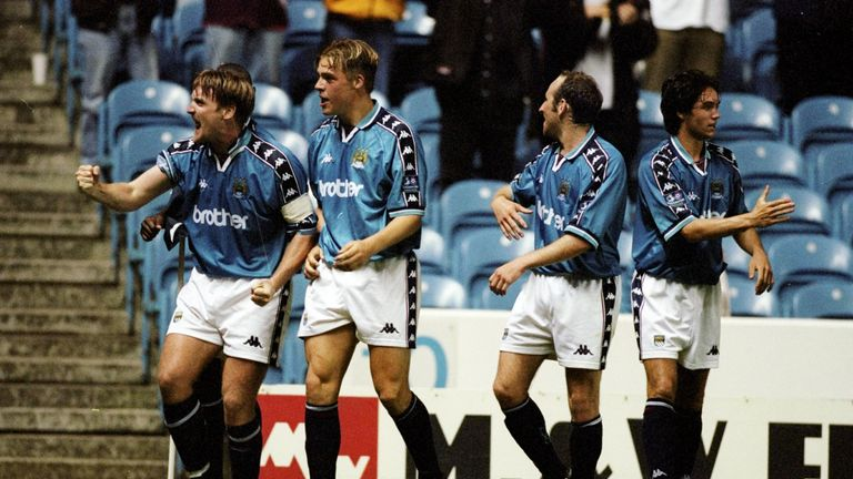 Documentary 'We're Not Really Here' reflects on Manchester City's 1998/99 campaign