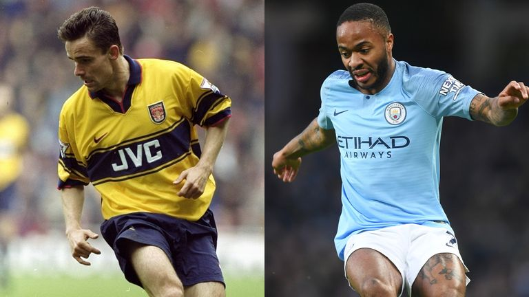 From Marc Overmars to Raheem Sterling, Gary Neville analyses the evolution of the winger