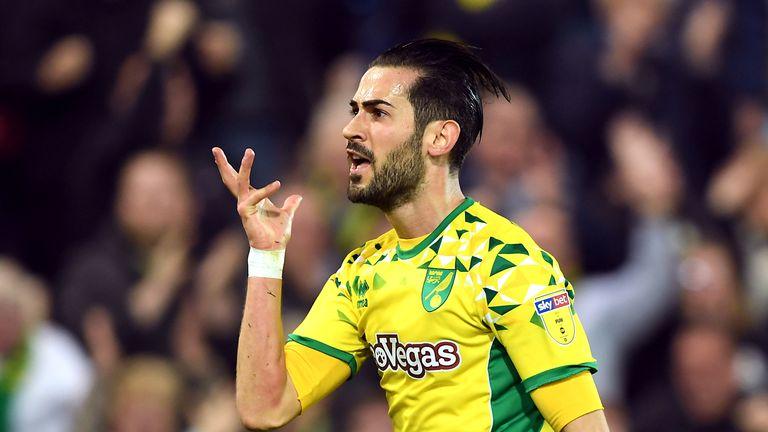 Mario Vrancic has pledged his future to Norwich