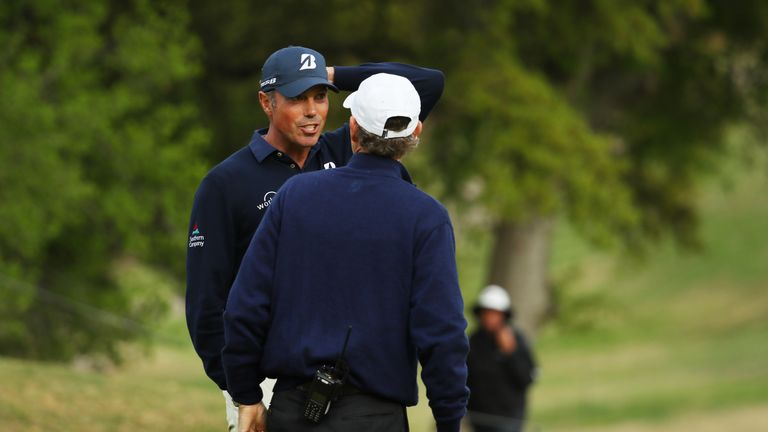 Kuchar spoke to a PGA Tour rules official after the incident