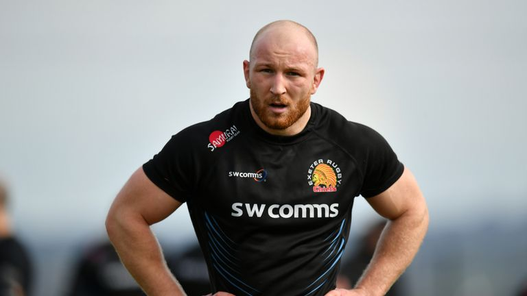 Cipriani voted for Exeter's Matt Kvesic for player of the year