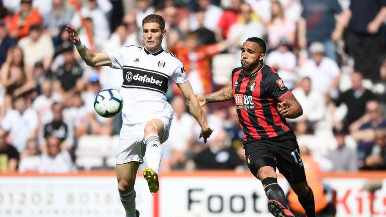 Maxime Le Marchand joined Fulham from Nice