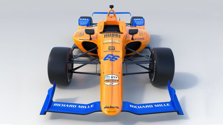McLaren unveil Alonso's Indy 500 car