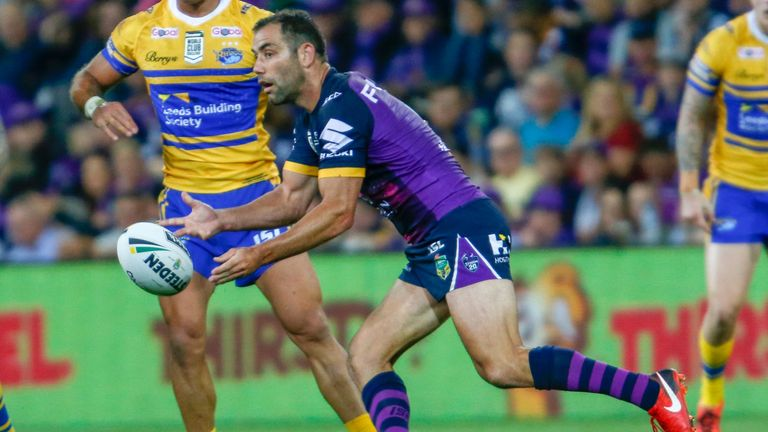 Cameron Smith broke the points scoring record during Melbourne's victory