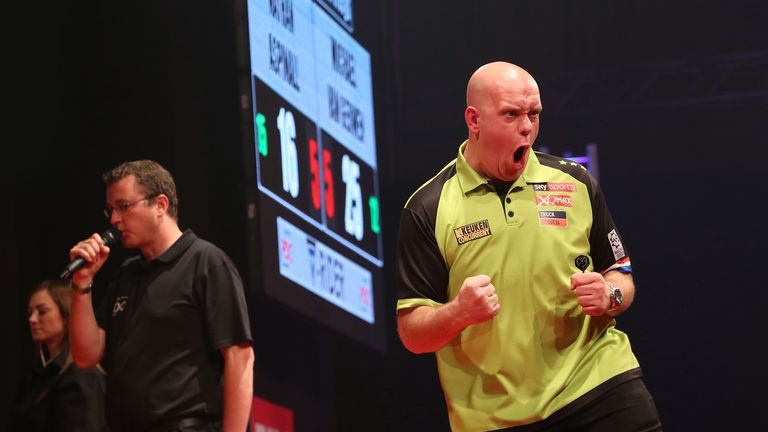 Michael van Gerwen dominated the early part of the European Tour this season and is hoping to become the first-ever winner of the Czech Open