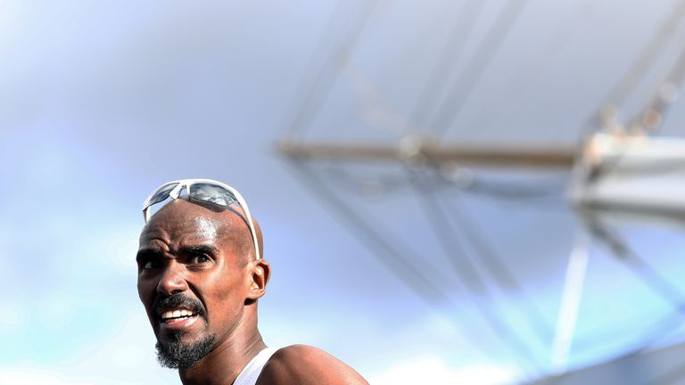 Salazar was Sir Mo Farah's coach between 2011 and 2017