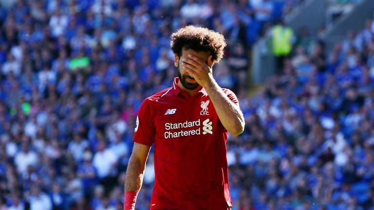 Mohamed Salah had suffered a drop in form earlier this season