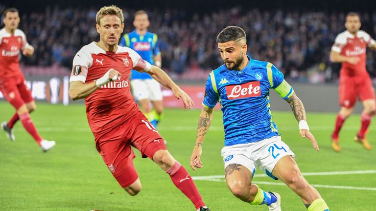 Lorenzo Insigne fired a blank in his 300th Napoli game before reacting angrily to being substituted