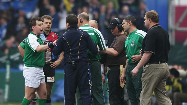 Referee Nigel Owens has admitted regrets over not being more rigorous