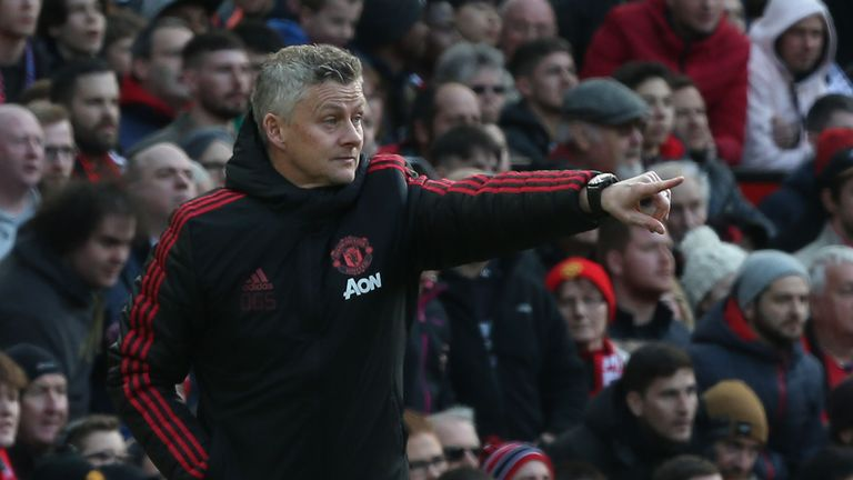 Solskjaer insists he has been backed by the club so far in the transfer market