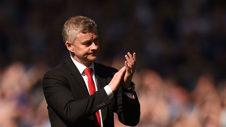 Ole Gunnar Solskjaer apologised to the United's travelling support after full-time