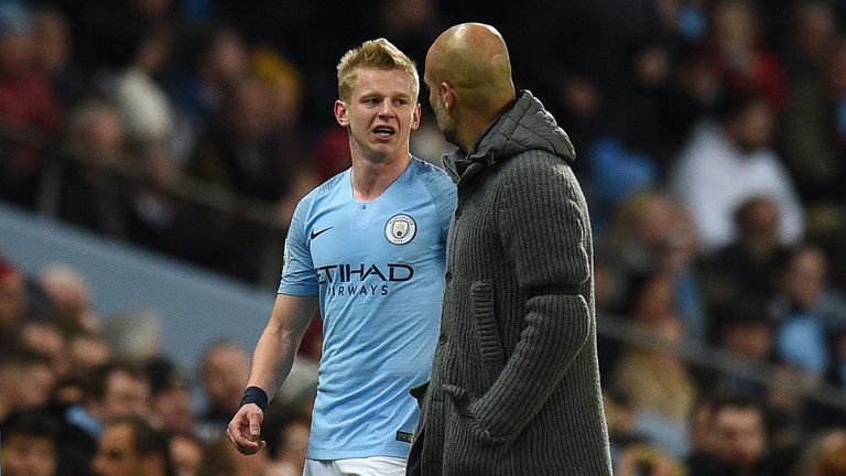 Zinchenko has established himself as an important player in Pep Guardiola's side
