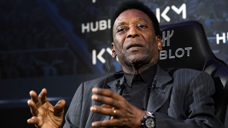 Brazil legend Pele 'much better' after treatment