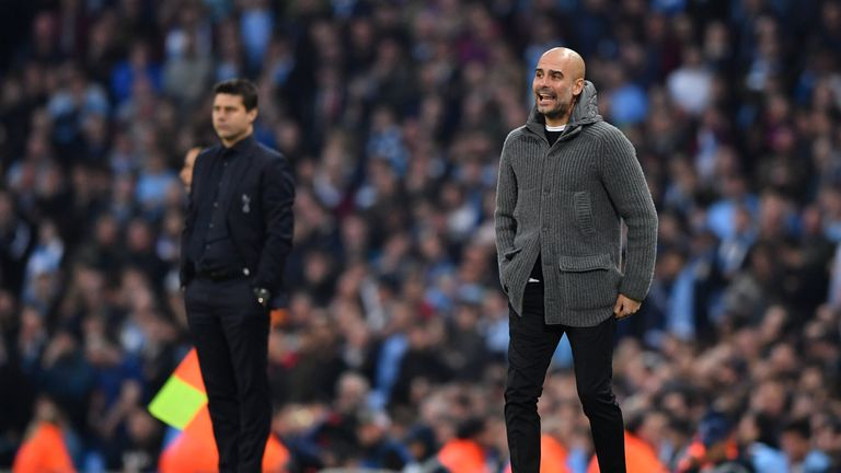 Pep Guardiola has little time to prepare Manchester City for another meeting with Spurs