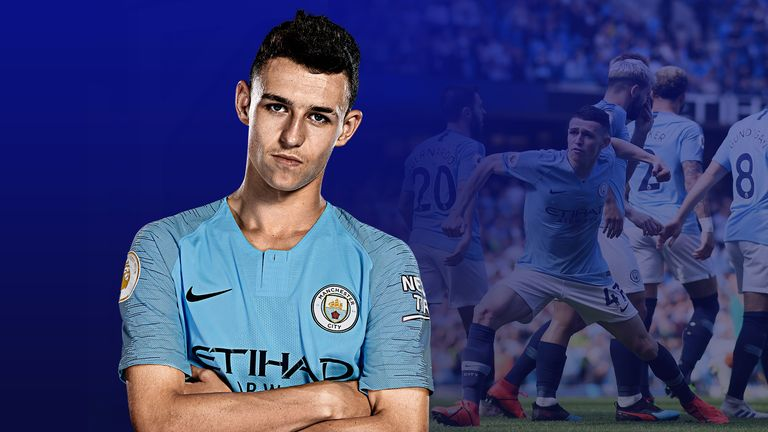 Phil Foden scored his first Premier League goal for Manchester City