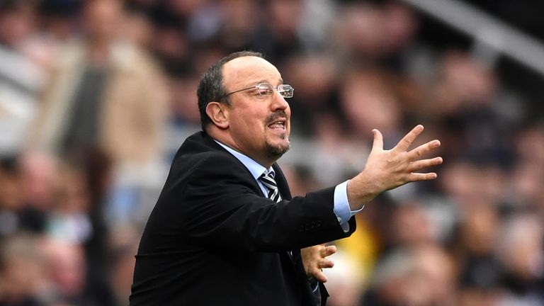 Rafa Benitez was in disbelief at the result after the game