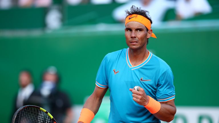 Nadal survived a stern test against Guido Pella