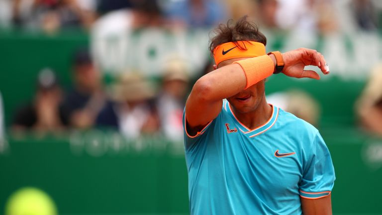 Rafael Nadal suffered a humiliating defeat to Fabio Fognini at the Monte-Carlo Masters