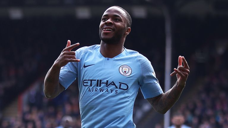 Raheem Sterling scored another brace and took his tally to 17 Premier League