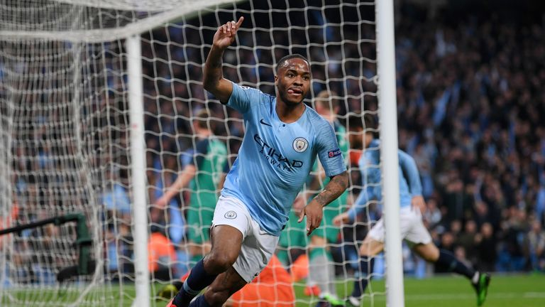 Raheem Sterling has scored 23 goals and added 14 assists for Man City this season