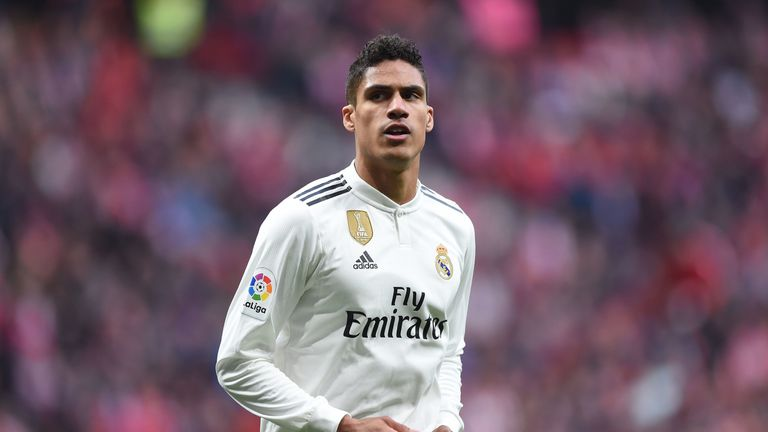 Real Madrid reportedly plan to offer Raphael Varane a new deal
