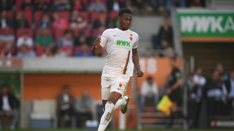 Reece Oxford joined Augsburg in January on a loan deal until the end of the season