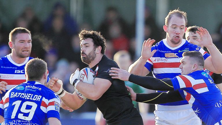 Rhys Williams was rested against Halifax  but he returns to London's squad