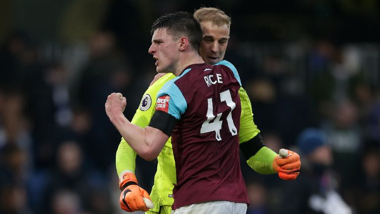 Declan Rice proved key for Manuel Pellegrini's West Ham last term