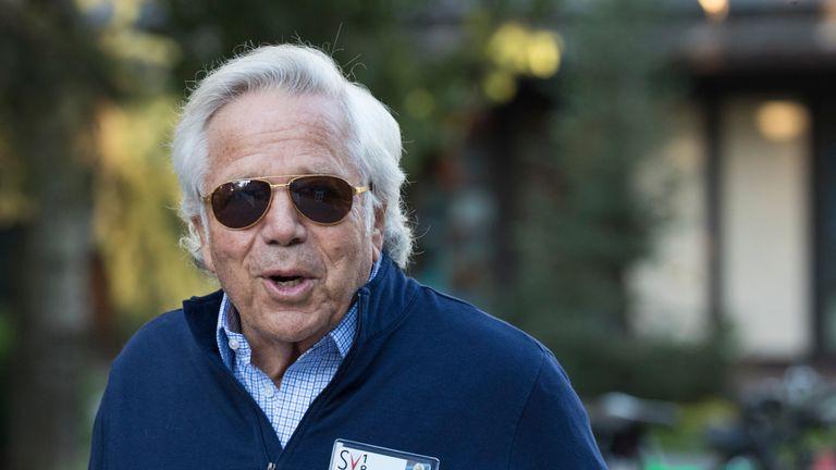 New England Patriots owner Robert Kraft's trial has been postponed
