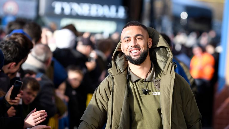 Kemar Roofe is enjoying seeing Leeds fans excited about the season