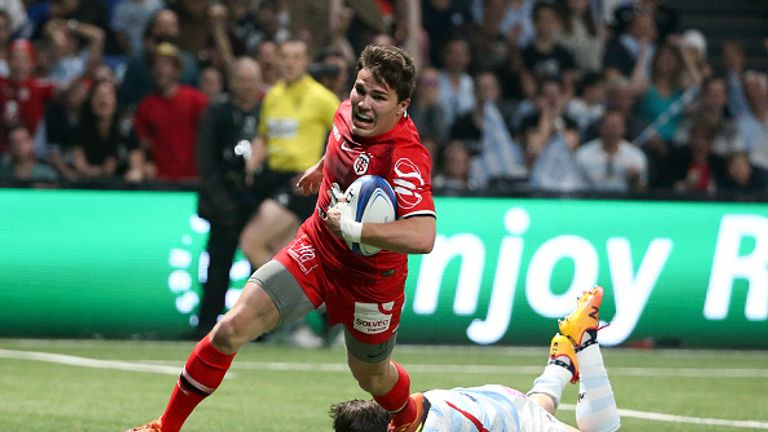 Antoine Dupont excelled for Toulouse as they re-found their European form