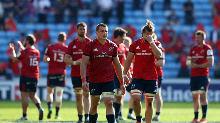 Munster suffered the disappointment of a seventh successive European semi-final defeat