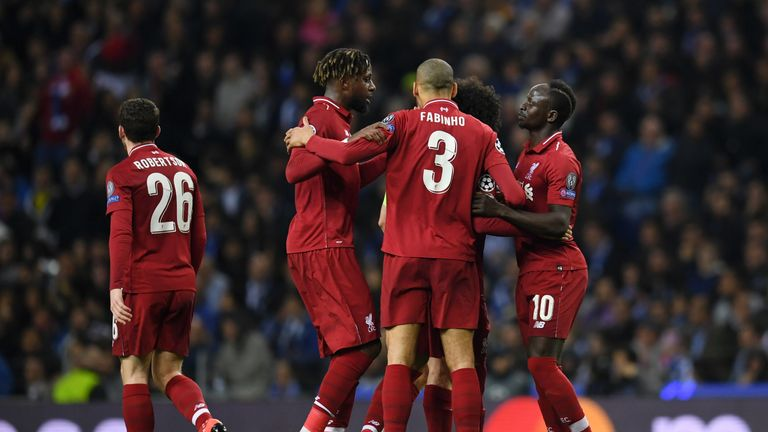 Liverpool will face Barcelona in the Champions League semi-finals