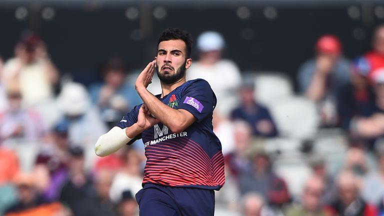 Lancashire's Saqib Mahmood is one for future England squads, according to Bumble