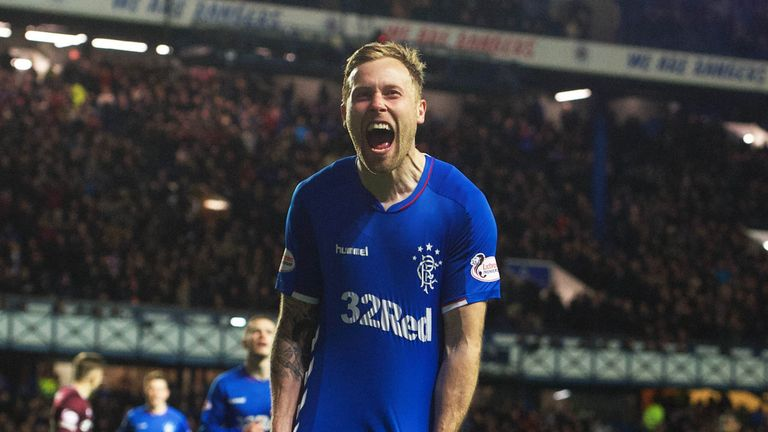 Arfield admits his time at Rangers will be judged on how many trophies he wins