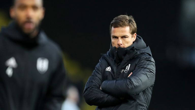 Scott Parker has been unable to stop Fulham from getting relegated