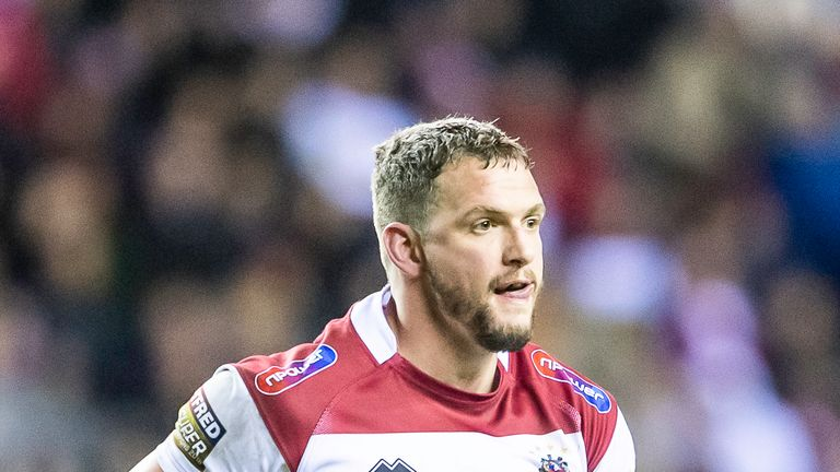 Sean O'Loughlin is back in contention for Wigan on Friday night