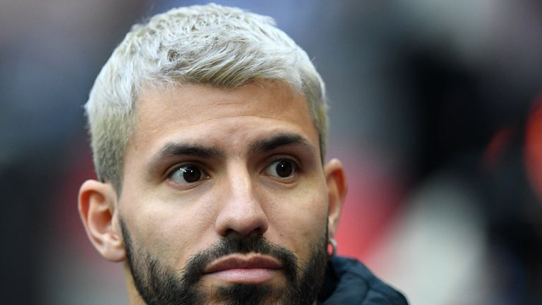 Sergio Aguero has taken to Twitter to give his support to Lionel Messi