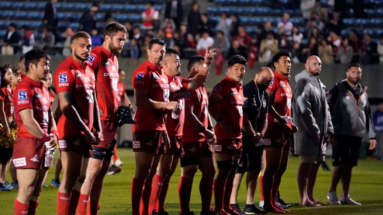 Sunwolves have won two of their nine matches in Super Rugby's Australian Conference this season