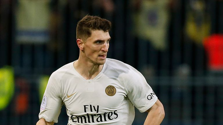 Thomas Meunier is linked with a move to Juventus