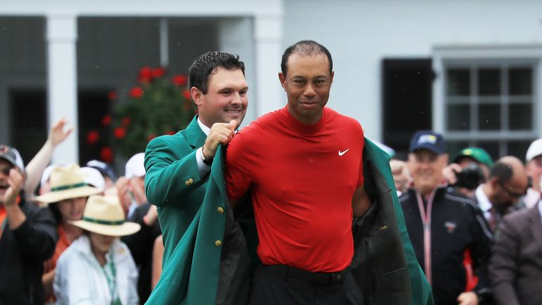 Tiger Woods claimed a fifth Masters title at Augusta