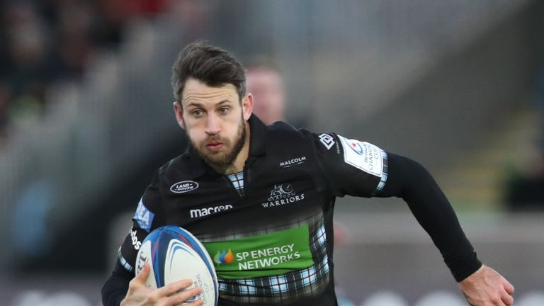 Tommy Seymour was among the try-scorers for Glasgow against Ulster