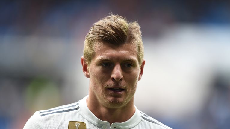 Toni Kroos is expected to end his Real Madrid stay this summer