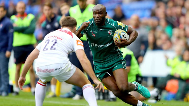 581f1640158 Topsy Ojo s time as a London Irish player will come to an end this weekend